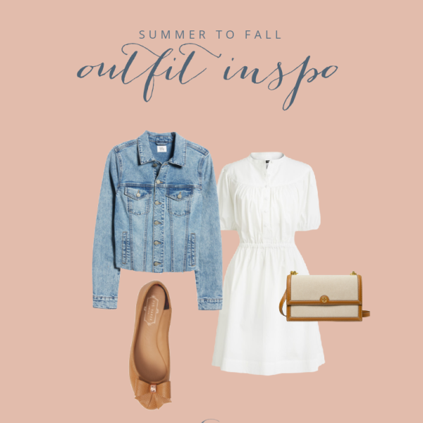 Late Summer Early Fall Fashion Favs