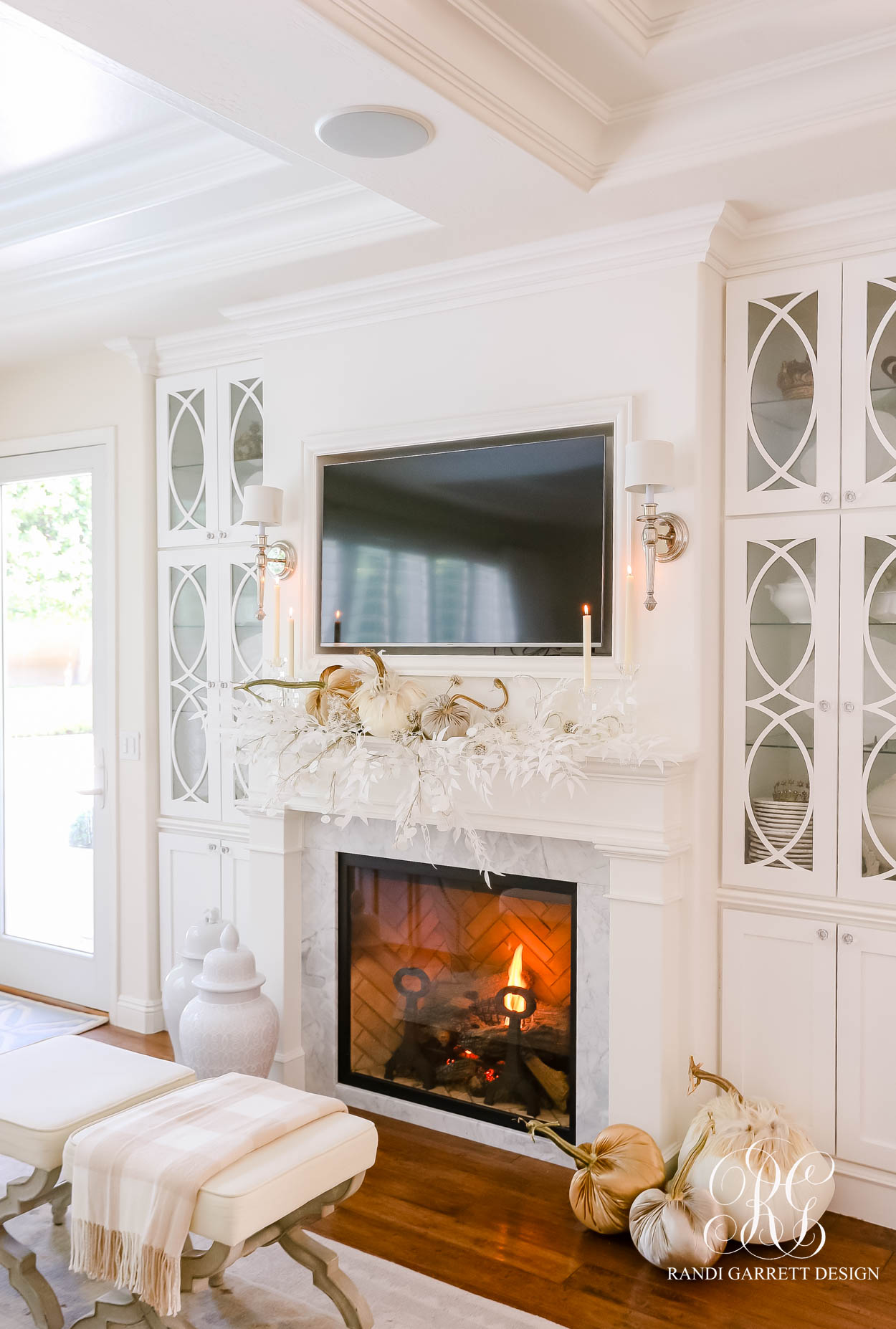 Luxe Fall Mantel