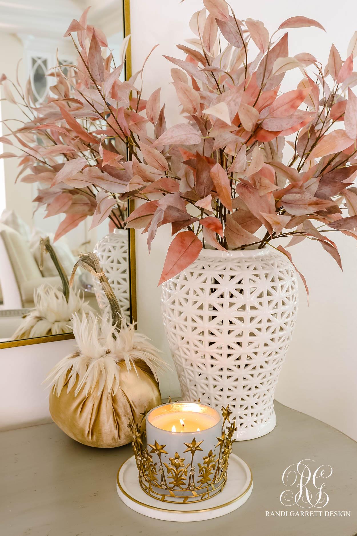 Gorgeous Neutrals Fall Home Tour fall decor